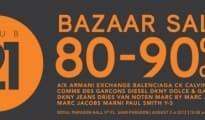 Club21 BAZAAR Sale 80-90% @PARAGON