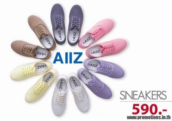 โปรโมชั่น AIIZ SALE ลดราคา สาขาเมกะบางนา วันที่ 1-31 สิงหาคม 2555