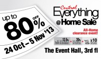Central Everything @ Home Sale