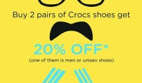 Crocs Father's Day Special