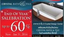 Crystal Bath&Tile End of Year Salebration