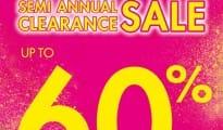 La Senza Semi Annual Clearance Sale