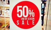 Urban Studio End of season sale