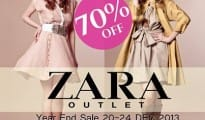 ZARA OUTLET - YEAR END SALE 2013