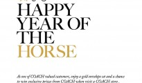Coach year of horse