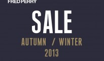 FRED PERRY AUTUMN  WINTER SALE