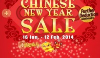 ISETAN CHINESE NEW YEAR SALE