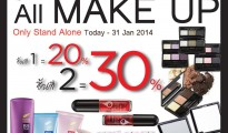 THEFACESHOP ALL MAKE UP SALE