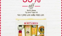 Burt's Bees Tip and Toes Kit