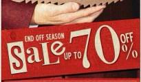 Clarks End of Season Sale
