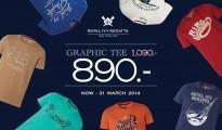 Royal Ivy Regatta Graphic Tee