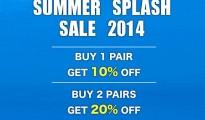 SHOE BAR Summer Splash Sale 2014