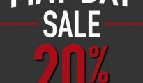 CC DOUBLE O MAY DAY SALE