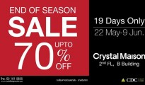 Crystal Maison End of Season Sale