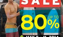 Quiksilver, Roxy, DC Sale