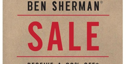 Ben Sherman Summer SALE