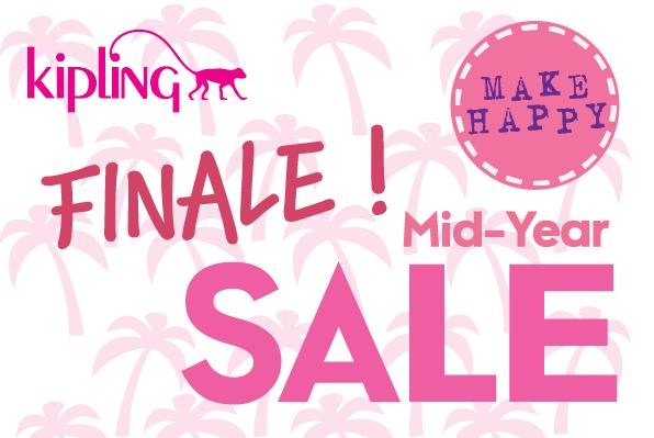 Kipling Finale Mid Year Sale