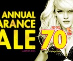 La Senza semi annual clearance sale