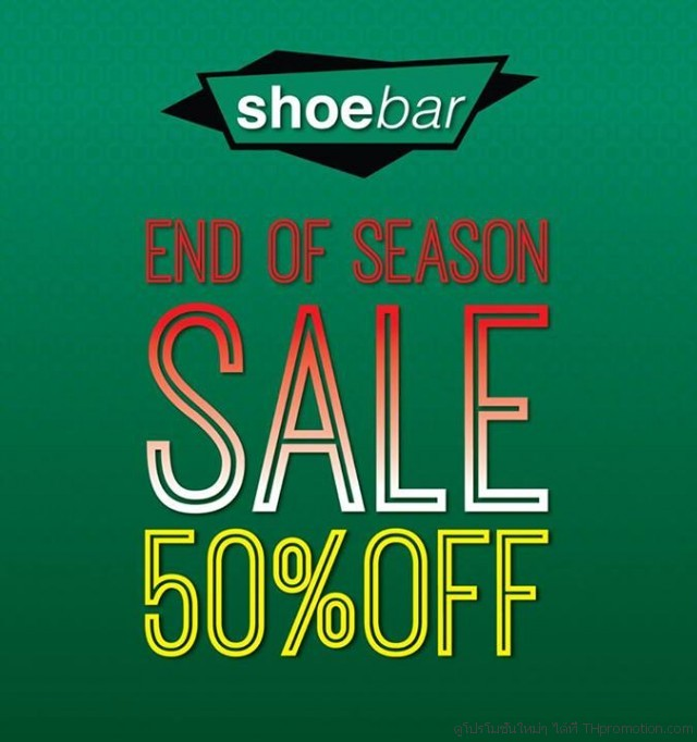 SHOE BAR END OF SEASON SALE