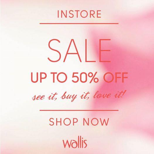Wallis End of Season Sale