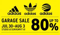 Adidas Garage Sale ลดสูงสุด
