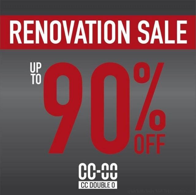 CC-OO RENOVATION SALE