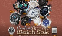 Central Annual Watch Sale