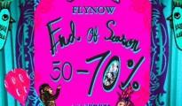 FLYNOW III End of Season Sale
