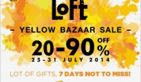 LOFT Yellow Bazaar Sale