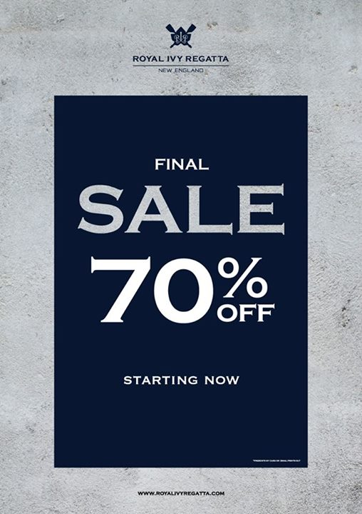 Royal Ivy Regatta FINAL SALE