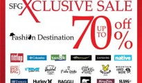 "SFG XClusive SALE ""Fashion Destination"""