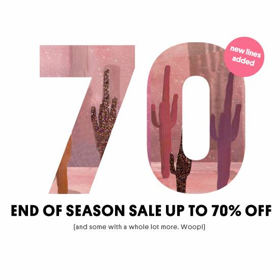 TOPSHOP End of Season Sale