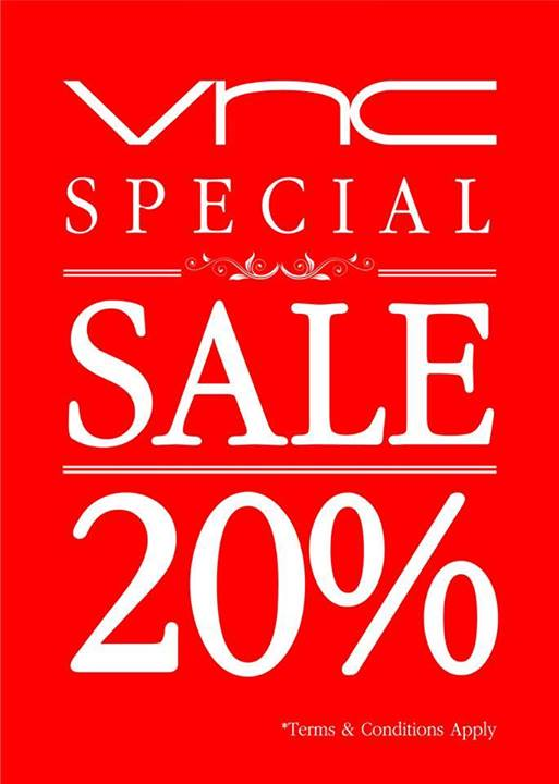 VNC SPECIAL SALE