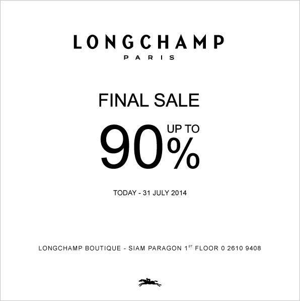 longchamp final sale