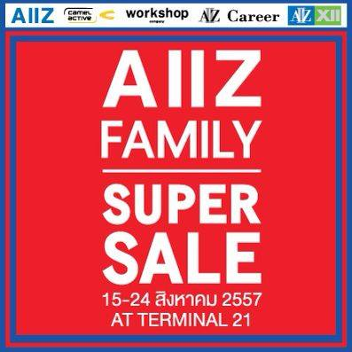 AIIZ FAMILY SUPER SALE