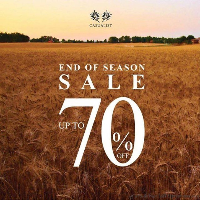 Casualist END OF SEASON SALE