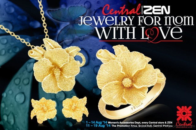 Central Jewelry for Mom with Love