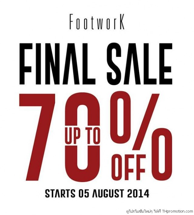 FOOTWORK Final Sale