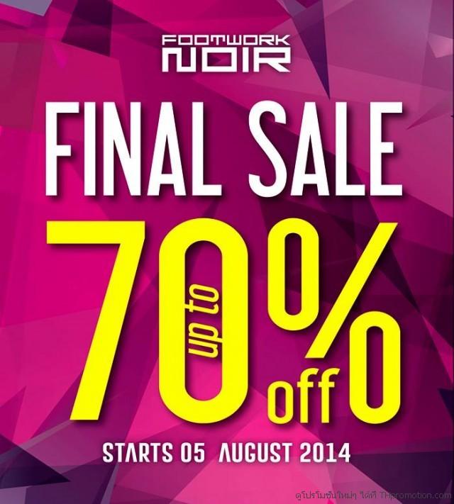FOOTWORK NOIR Final Sale