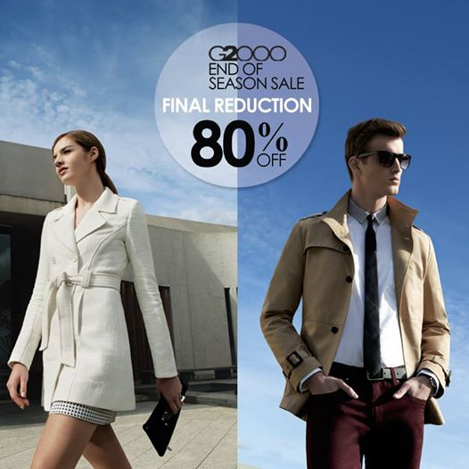 G2000 final reduction Sale