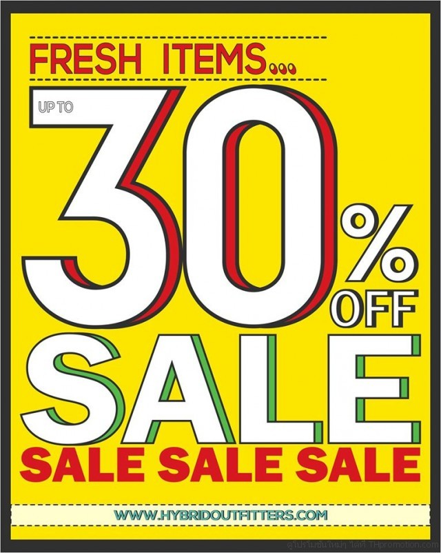 Hybrid Outfitters FRESH ITEMS SALE