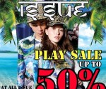 ISSUE PLAY SALE