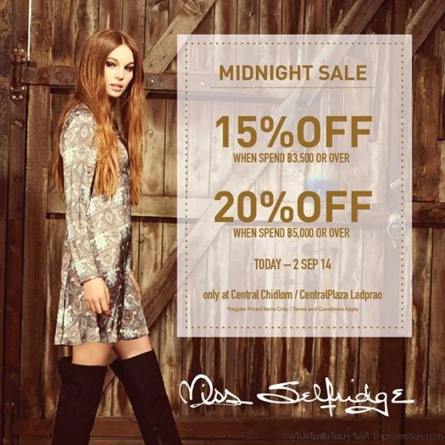Miss Selfridge Midnight Sale