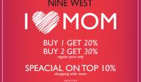 NINE WEST I LOVE MOM