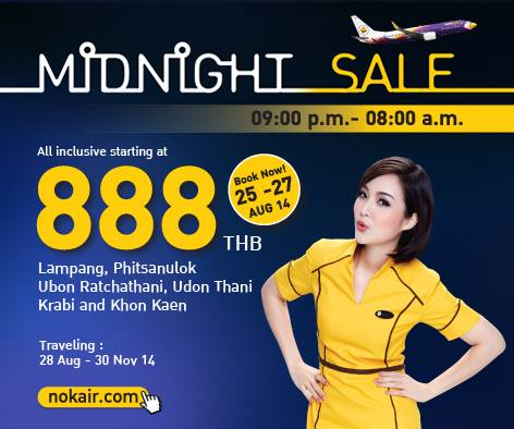Nok Air Midnight Sale