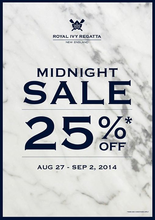 Royal Ivy Regatta MIDNIGHT SALE