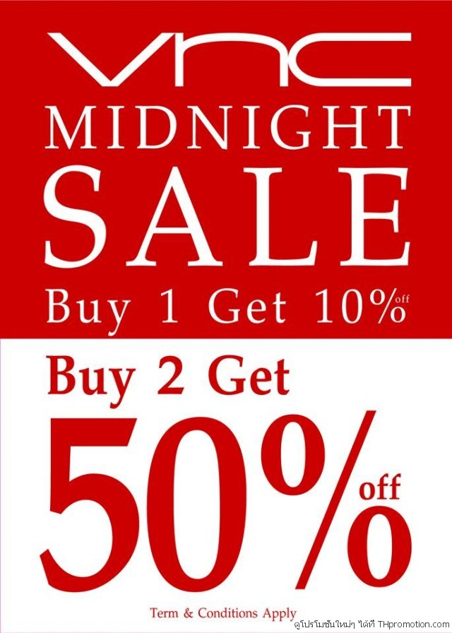 VNC Midnight Sale 2014