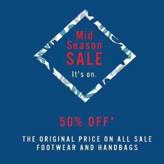 ALDO Mid Season Sale