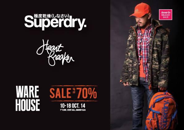 Amarin Brand Sale - Superdry & HeartBreaker SALE