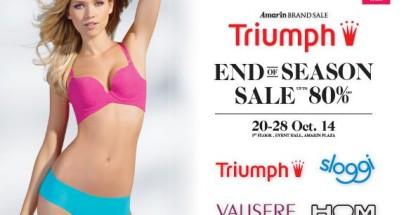 "Amarin Brand Sale ""Triumph End of Season sale"""